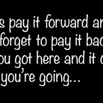 Bloggers It's Time To Pay It Forward