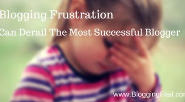 Blogging Frustration