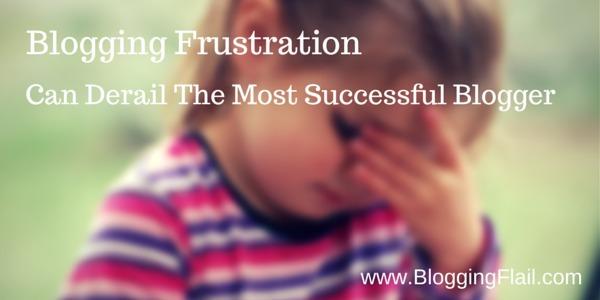 Blogging Frustration